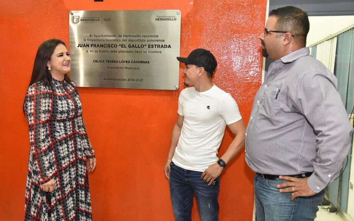 """Bautizan gimnasio en honor al """"Gallo"""" Estrada - El Sol de Hermosillo"""