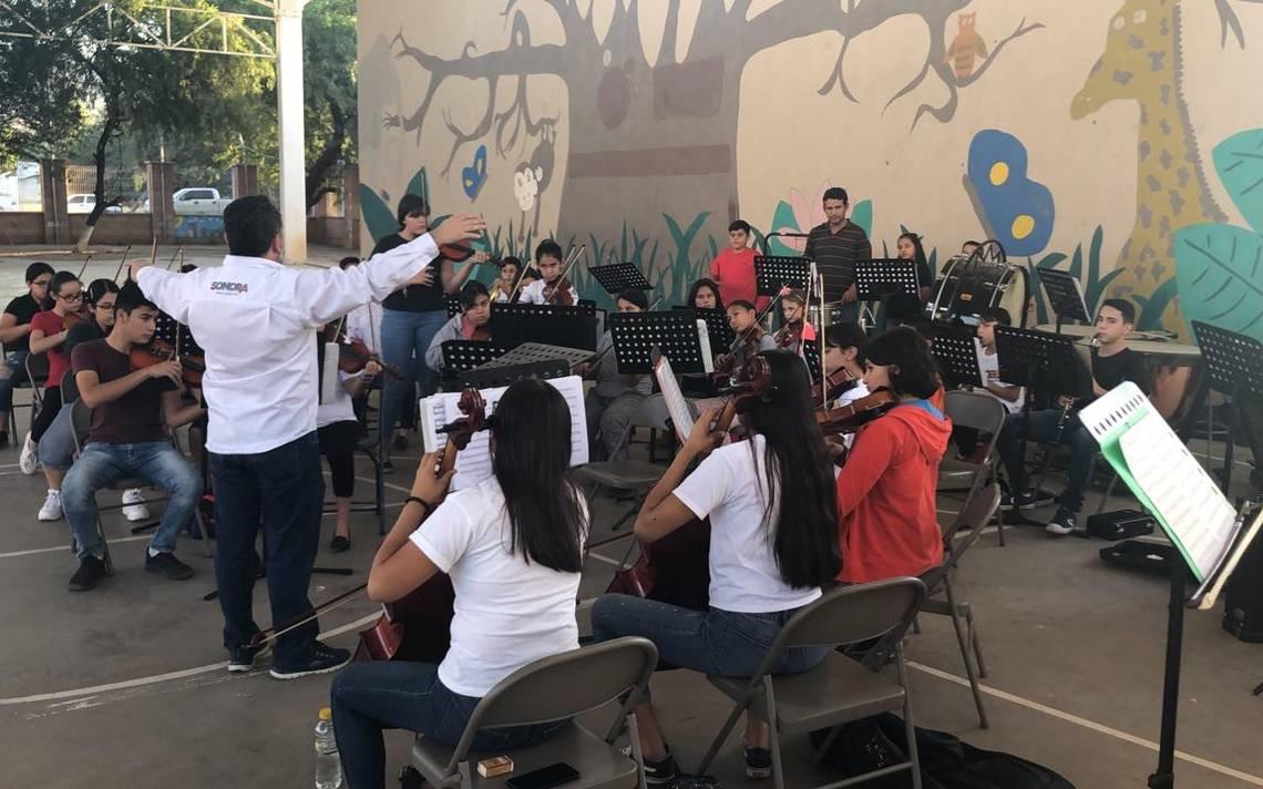 Reconocen a Orquesta Sinfónica Juvenil de la SSP - El Sol de Hermosillo