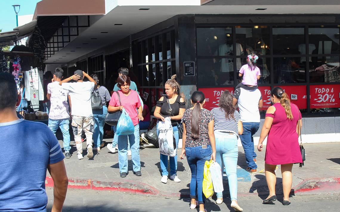 Largas filas en comercios del centro de Hermosillo por el Buen Fin - El Sol de Hermosillo