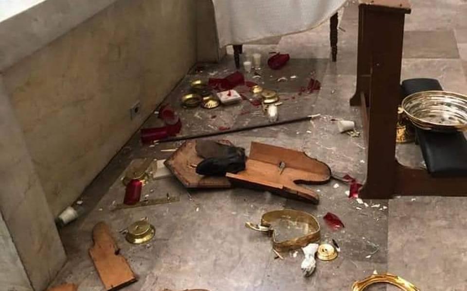 FGJE continúa con averiguaciones por destrozos en la Catedral de Hermosillo  - El Sol de Hermosillo   Noticias Locales, Policiacas, sobre México, Sonora  y el Mundo