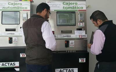 Registro Civil Colocará 80 Cajeros Automáticos El Sol De